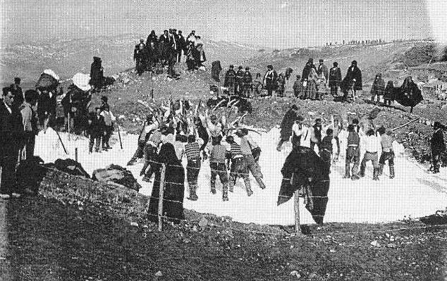 Vecchi mestieri scomparsi: la storia dei cavatori di ghiaccio di Celano