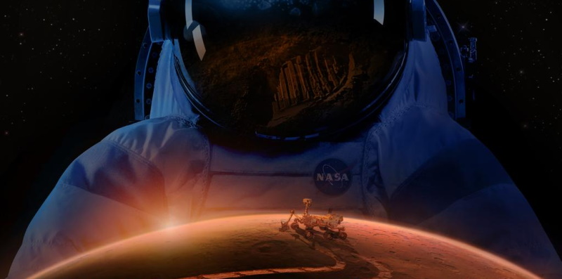 Celano e Santa Iona: una carta d'imbarco NASA per arrivare su Marte