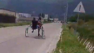 Corse clandestine di cavalli ad Avezzano nel servizio del TG3 Abruzzo e video denunce sui social