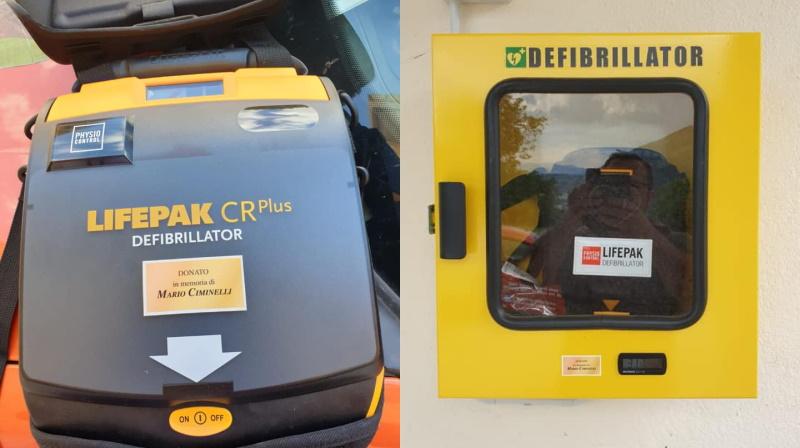 Memorial Mario Ciminelli dona due defibrillatori a San Potito e Santa Jona