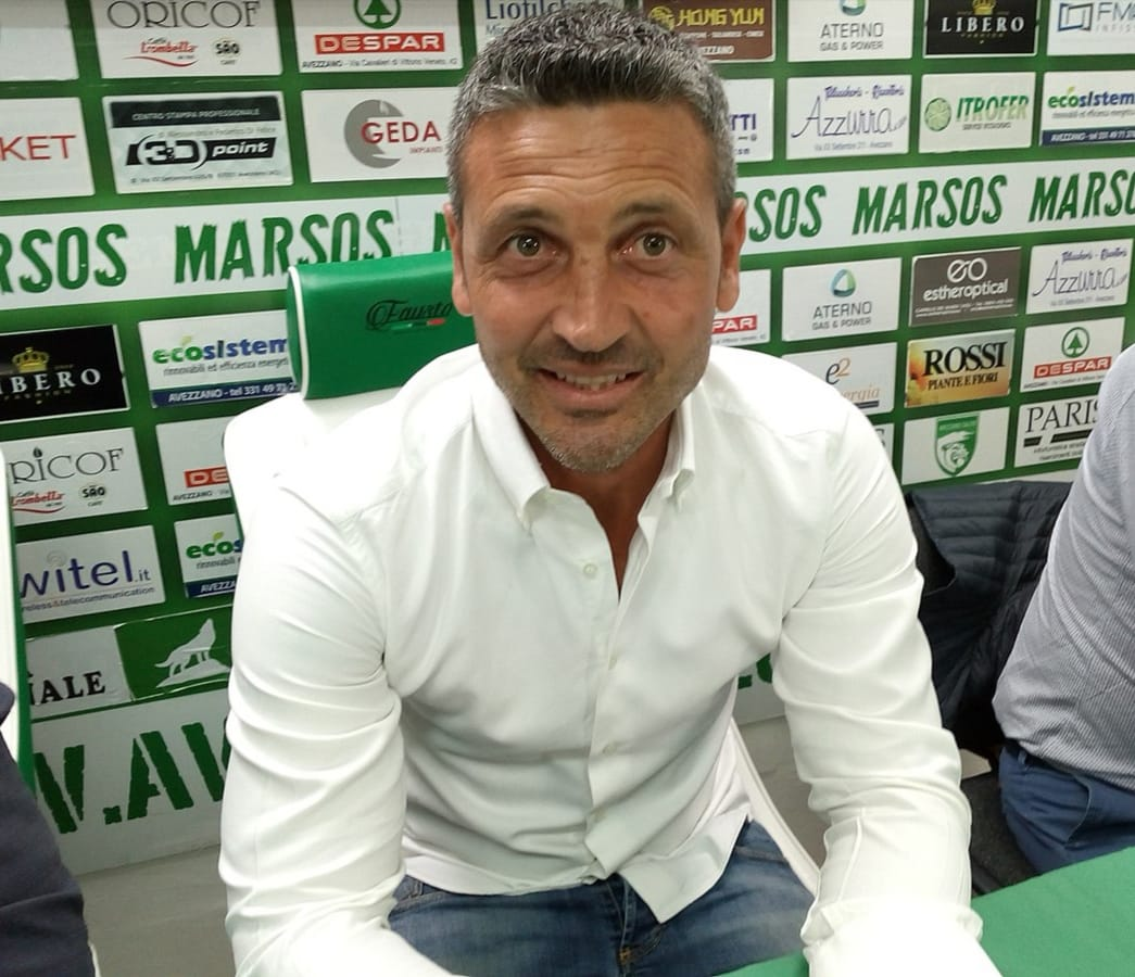 """Avezzano Calcio, un'altra estate ma """"stessa storia"""", mister Del Grosso lascia"""