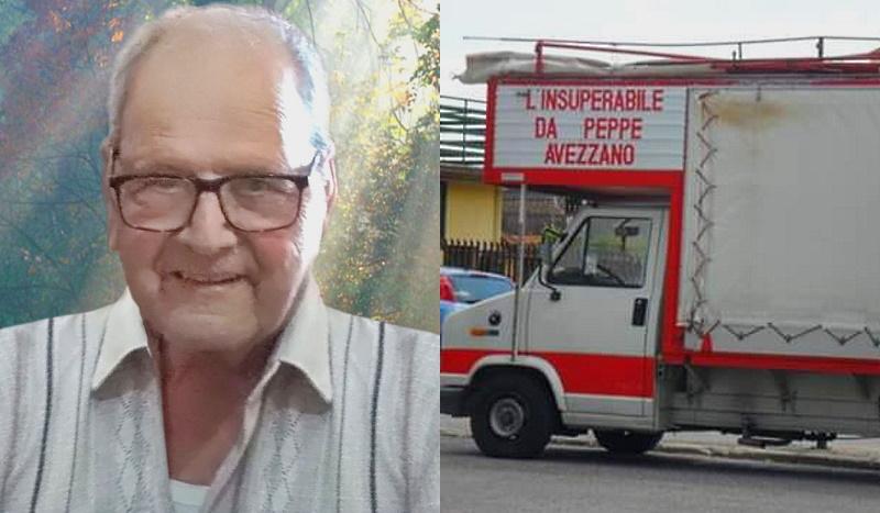Addio a Giuseppe Di Murro, storico venditore ambulante di Avezzano