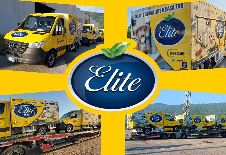 Elite Surgelati, sei nuovi furgoni delle consegne per un servizio ancora più efficiente, veloce e puntuale