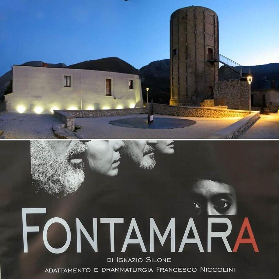 Aielli, 'Libert'Aria' organizza la rappresentazione teatrale Fontamara sotto il murale omonimo