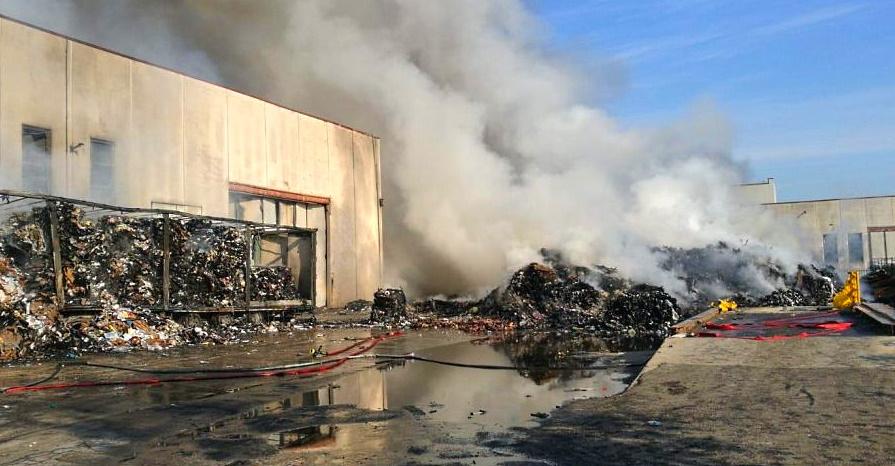 Incendio aziende di Avezzano, solidarietà dal presidente di Tekneko Umberto Di Carlo