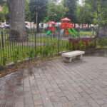 """Gli irrigatori di Piazza Torlonia """"inaugurano"""" la stagione dei gavettoni estivi"""