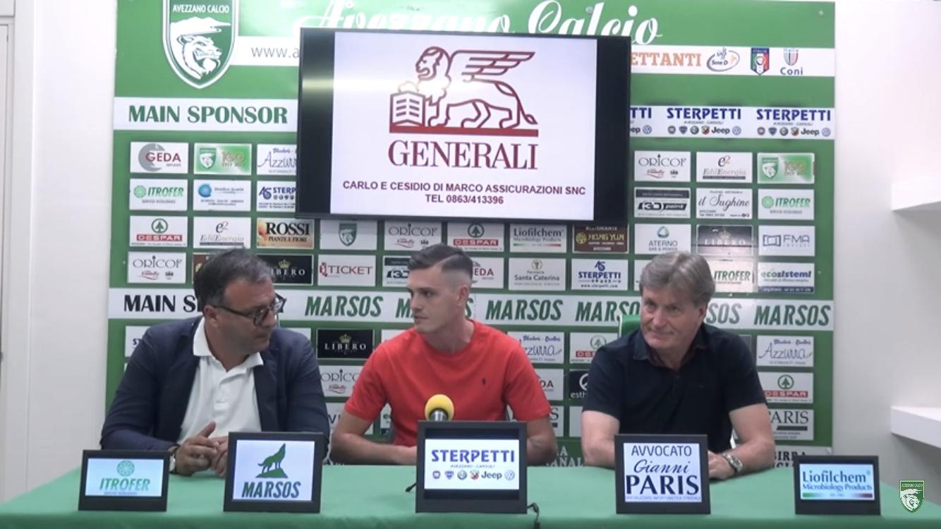 """Avezzano Calcio, ufficiale il ritorno di Emanuele Lombardo: """"Questa è la mia seconda casa"""""""