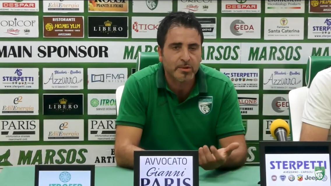 Avezzano Calcio, Andrea Mazzone confermato nel ruolo di responsabile della logistica