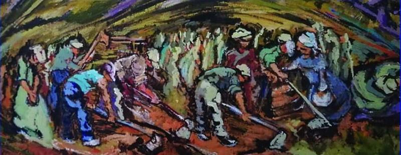 """Inaugurazione mostra di pittura """"Amara Terra Mia"""" dell'artista Antonella D'Angelo"""