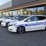 Nissan e L'Aquila ancora insieme per la mobilità sostenibile: 5 Nissan LEAF 100% elettriche a supporto della Polizia Municipale e del Sindaco