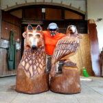 La panca del lupo e dell'aquila: la nuova opera di Giancarlo Sociali