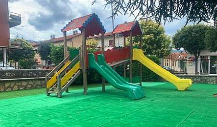 A Lecce nei Marsi riapre il parco giochi per i bambini