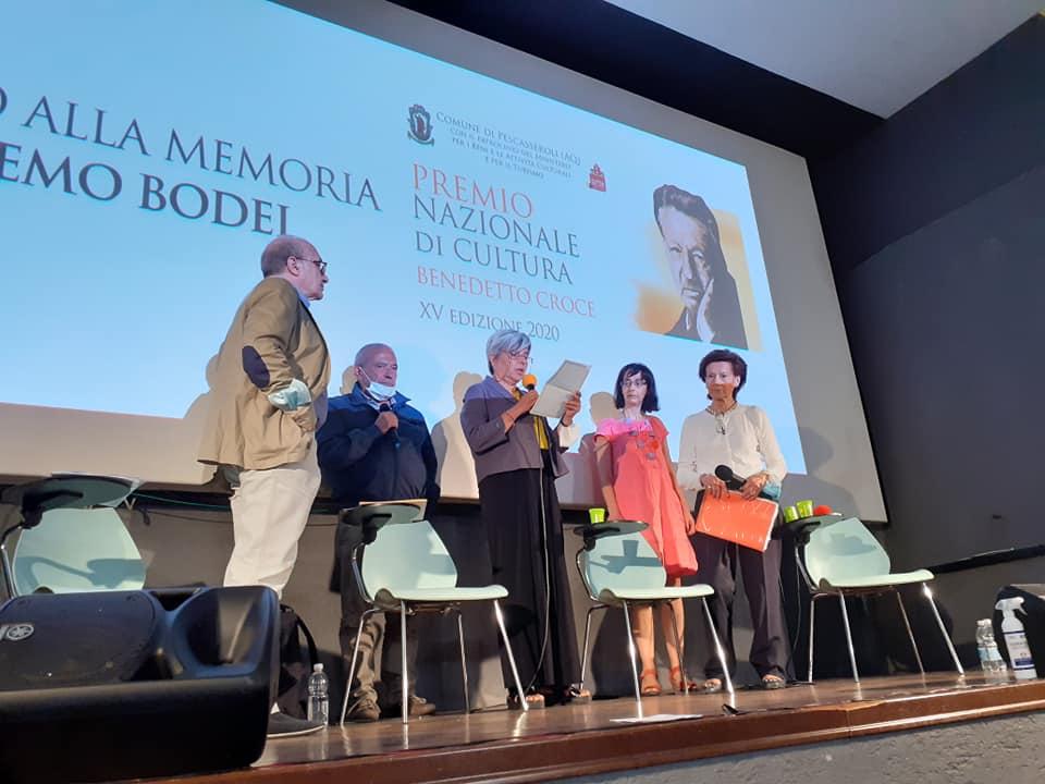 Il ministro Francesco Boccia presente alla premiazione del Premio Nazionale di Cultura 'Benedetto Croce'