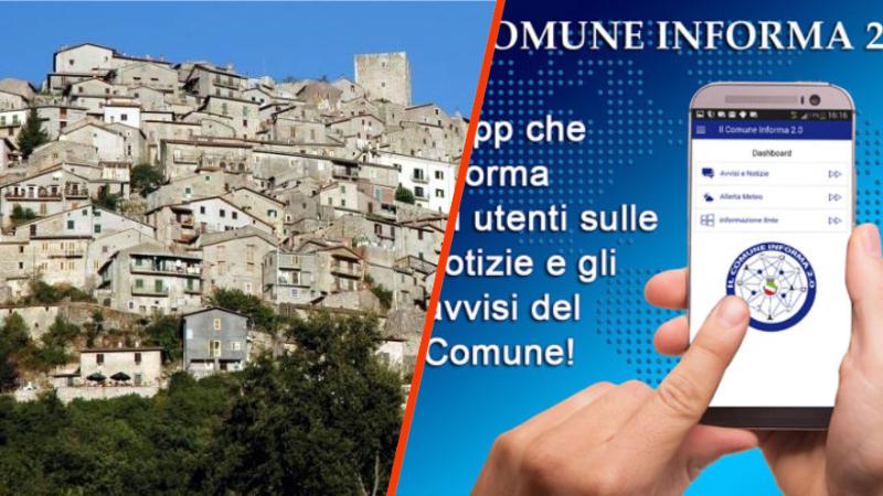 """Anche Pereto attiva l'app """"Il Comune Informa 2.0"""""""