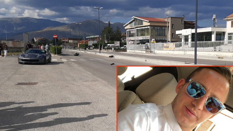 Incidente mortale in via Sandro Pertini, muore giovane centauro