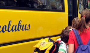 Sospeso il servizio scuolabus a Capistrello: si è in attesa dei risultati dei tamponi anti Covid