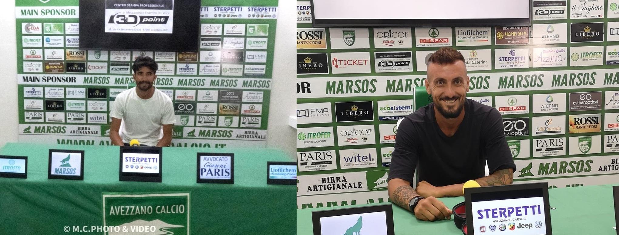 Avezzano Calcio, ufficializzati Verna e Lepre per la prossima stagione