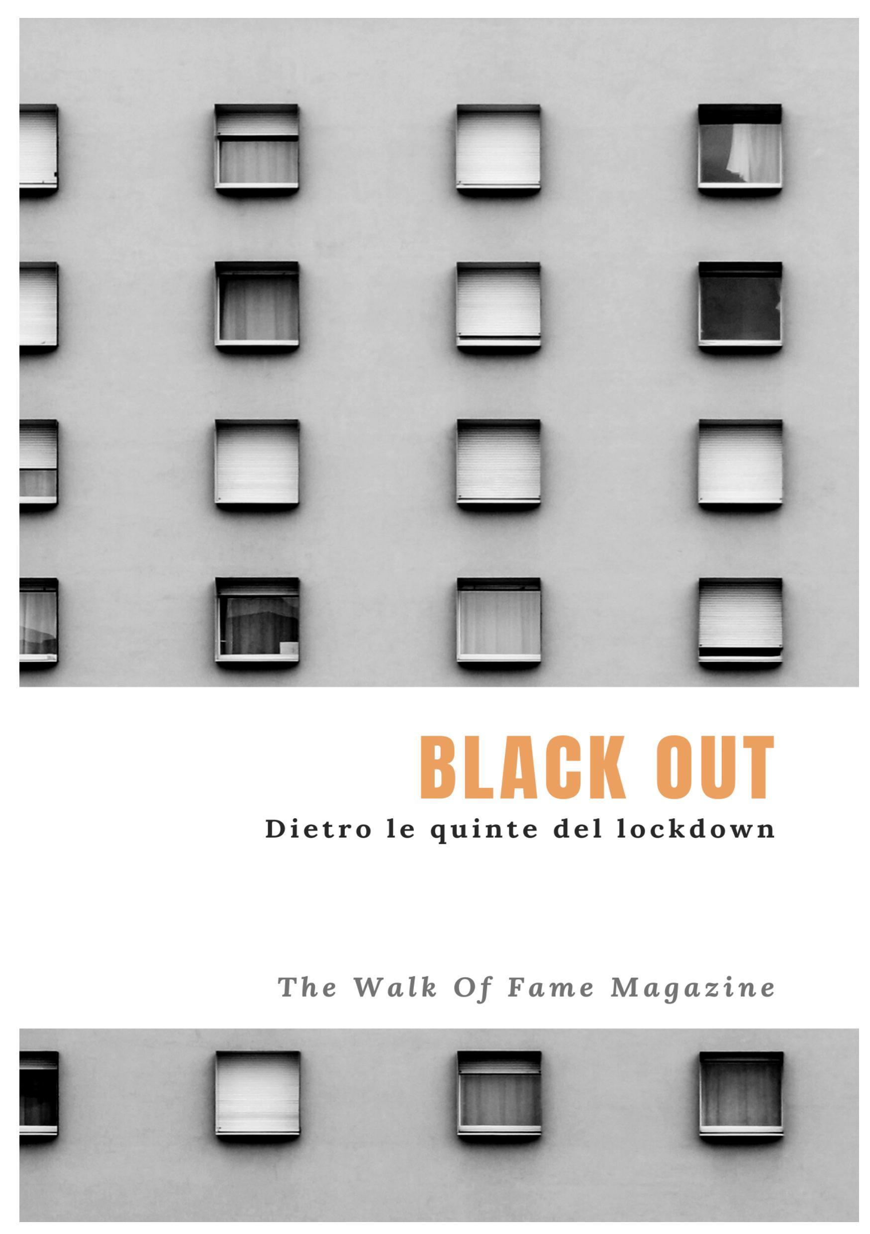 """E' uscito """"Black Out"""", primo libro del Magazine The Walk Of Fame"""