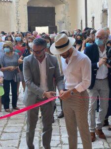 """Tagliacozzo, inaugurata """"CONTEMPORANEA VENTIVENTI"""" nel palazzo ducale"""