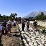 Grande partecipazione alla visita dei cantieri di scavo ad Alba Fucens. Diverse le scoperte