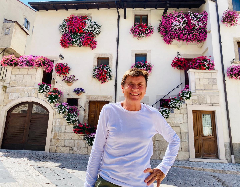 Gianni Morandi ancora in Abruzzo, questa volta nel Parco Nazionale della Maiella