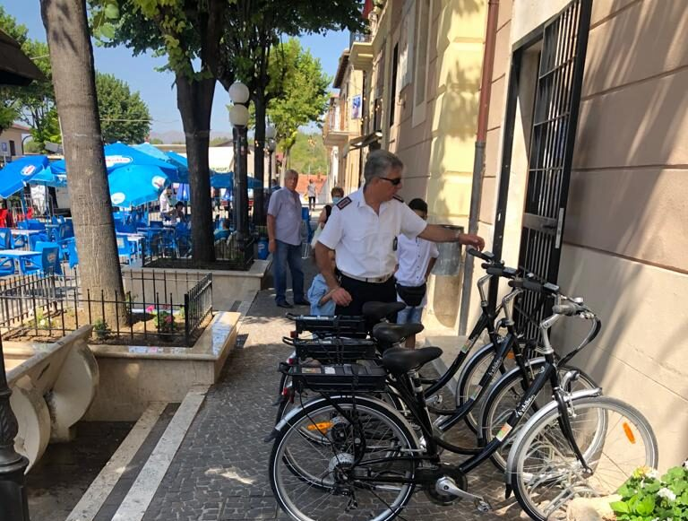 Biciclette elettriche a pedalata assistita gratuite per i cittadini e i turisti di Cerchio