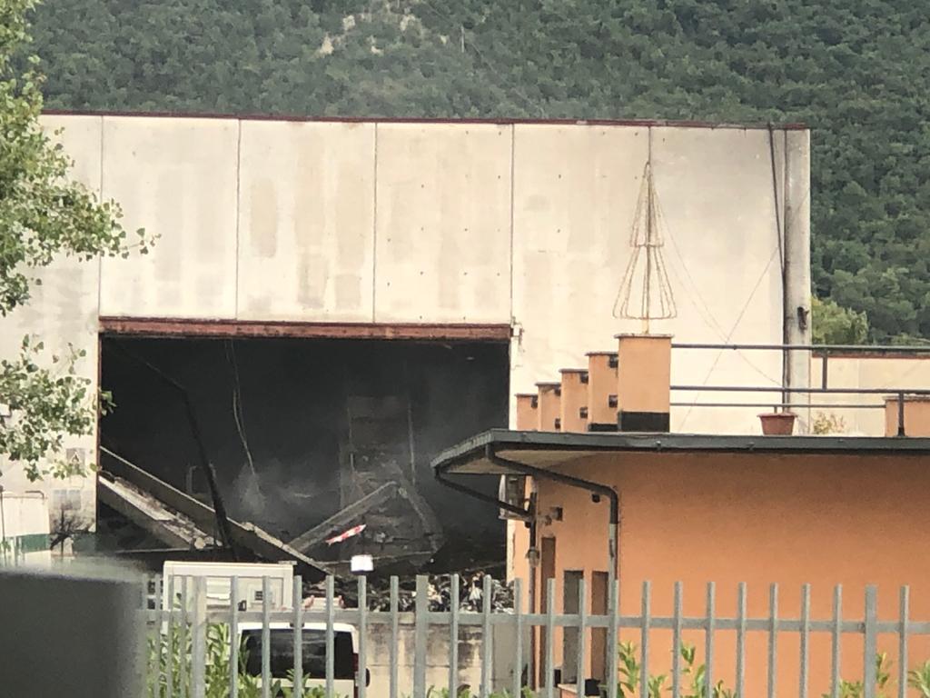 """Amianto nel centro Casinelli, Di Carlo: """"sappiamo per certo che c'è una dispersione d'amianto ma nessuno fa niente"""""""