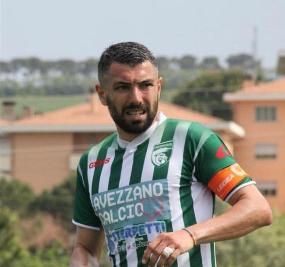 Avezzano Calcio, salta il ritorno in biancoverde di Federico Cerone