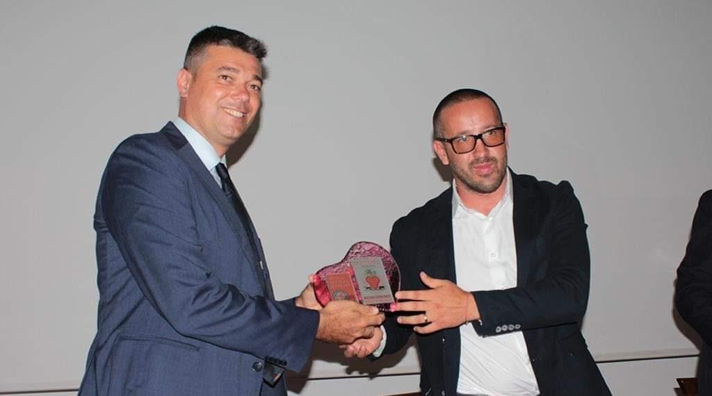 Festival della Lettera d'Amore, premiato il sindaco Enzo Di Natale