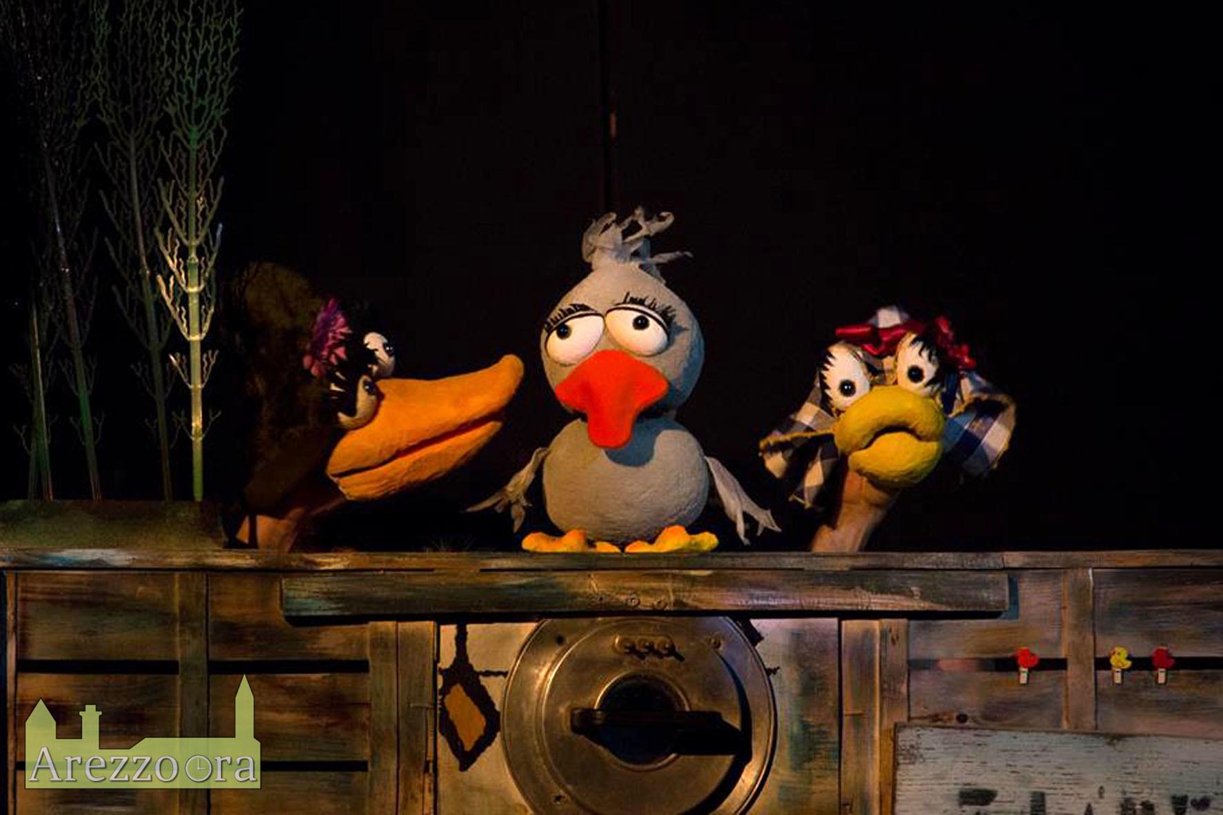 """Spettacolo teatrale """"Il brutto anatroccolo"""", appuntamento domani nell'Atrio del Teatro San Francesco a Pescina"""