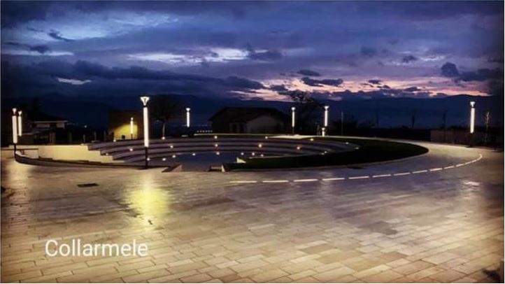 Domenica inaugurazione della Piazza dell'Orologio a Collarmele