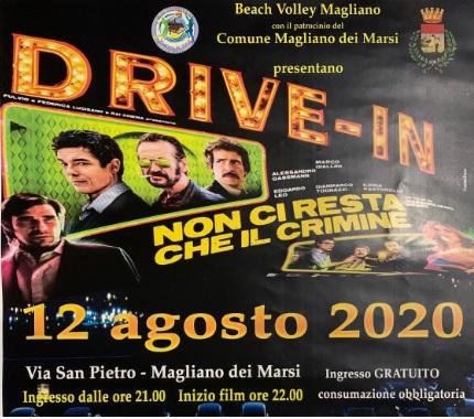 Arriva il Drive-in a Magliano de' Marsi