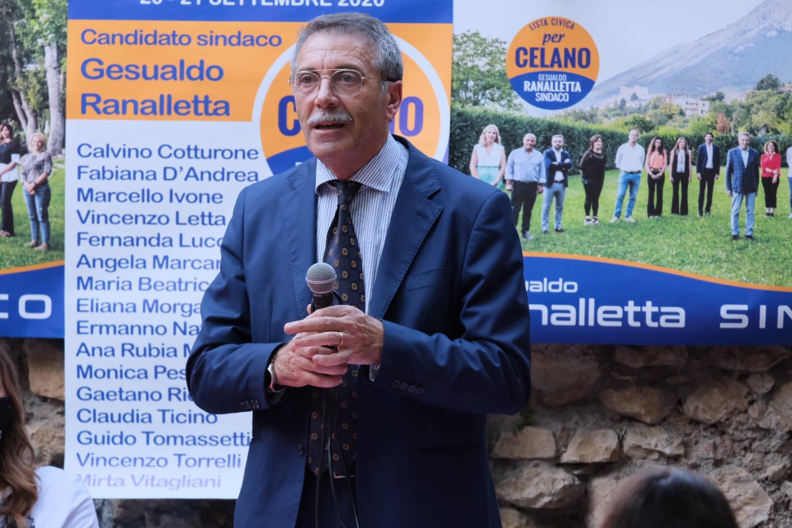 """Presentata la lista """"Per Celano"""", Ranalletta: """"Giovani e donne in gioco per la nostra città"""""""