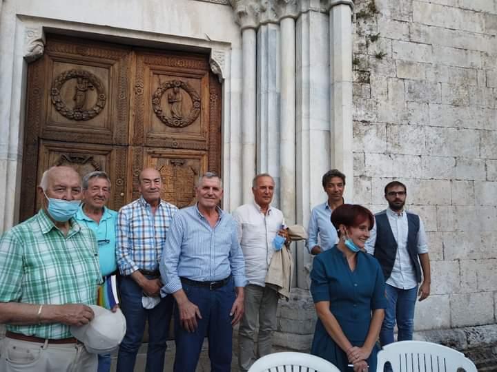 """Presentato a Celano il libro """"Non c'è Pace"""" di Romina Perni e Roberto Vicaretti"""