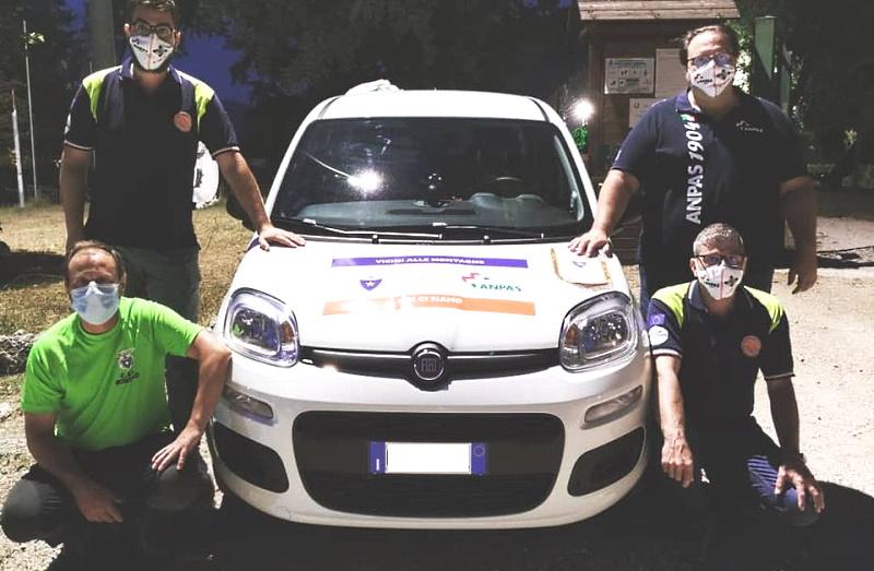 Vettura donata al Gruppo Volontari Protezione Civile di Magliano dei Marsi