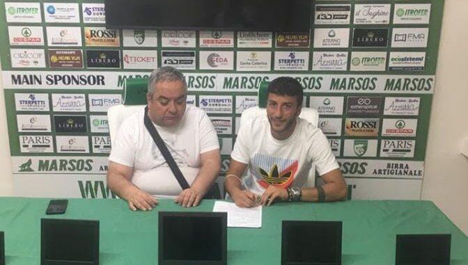Avezzano Calcio, ecco il nuovo attaccante: ufficiale l'arrivo di Daniele Di Girolamo
