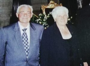 Nozze di diamante per Nunziatina Roselli e Umberto Di Mascio, sposi da 60 anni
