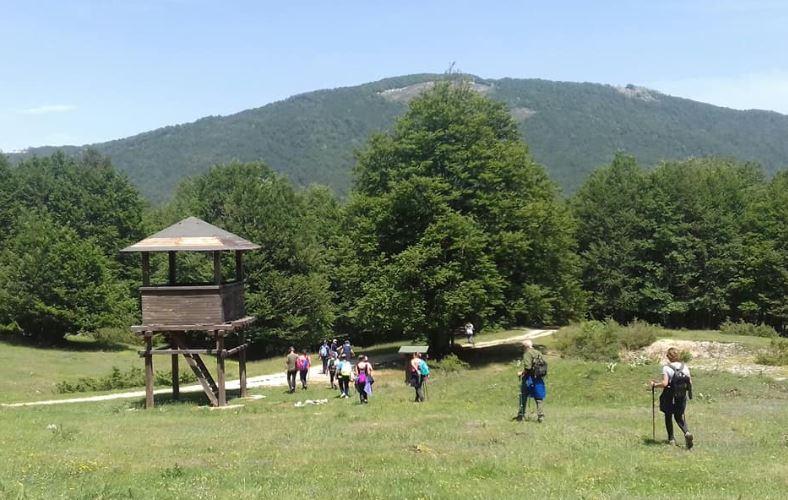 Sulle montagne che segnano il confine fra Lazio e Abruzzo con la sezione CAI Valle Roveto