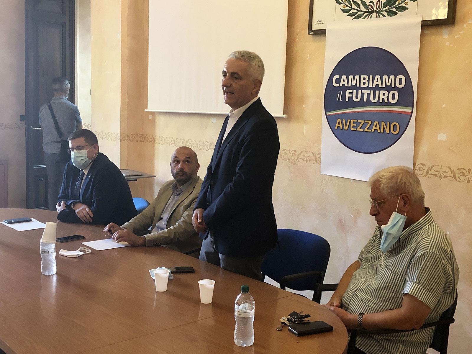 """Elezioni Avezzano: inaugurazione sede elettorale lista """"cambiamo il futuro"""" a sostegno di Genovesi"""