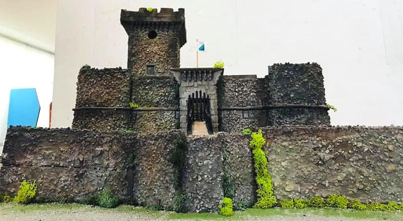 Il Castello Piccolomini di Ortucchio esposto ad Abruzzo in miniatura