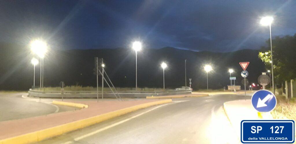 Trasacco, nuova illuminazione delle rotatorie e nuova denominazione della ex via Pecorale