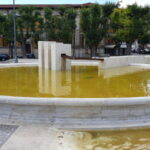 Acque stagnanti nelle fontane dell'Obelisco di Tagliacozzo e di Piazza Risorgimento ad Avezzano