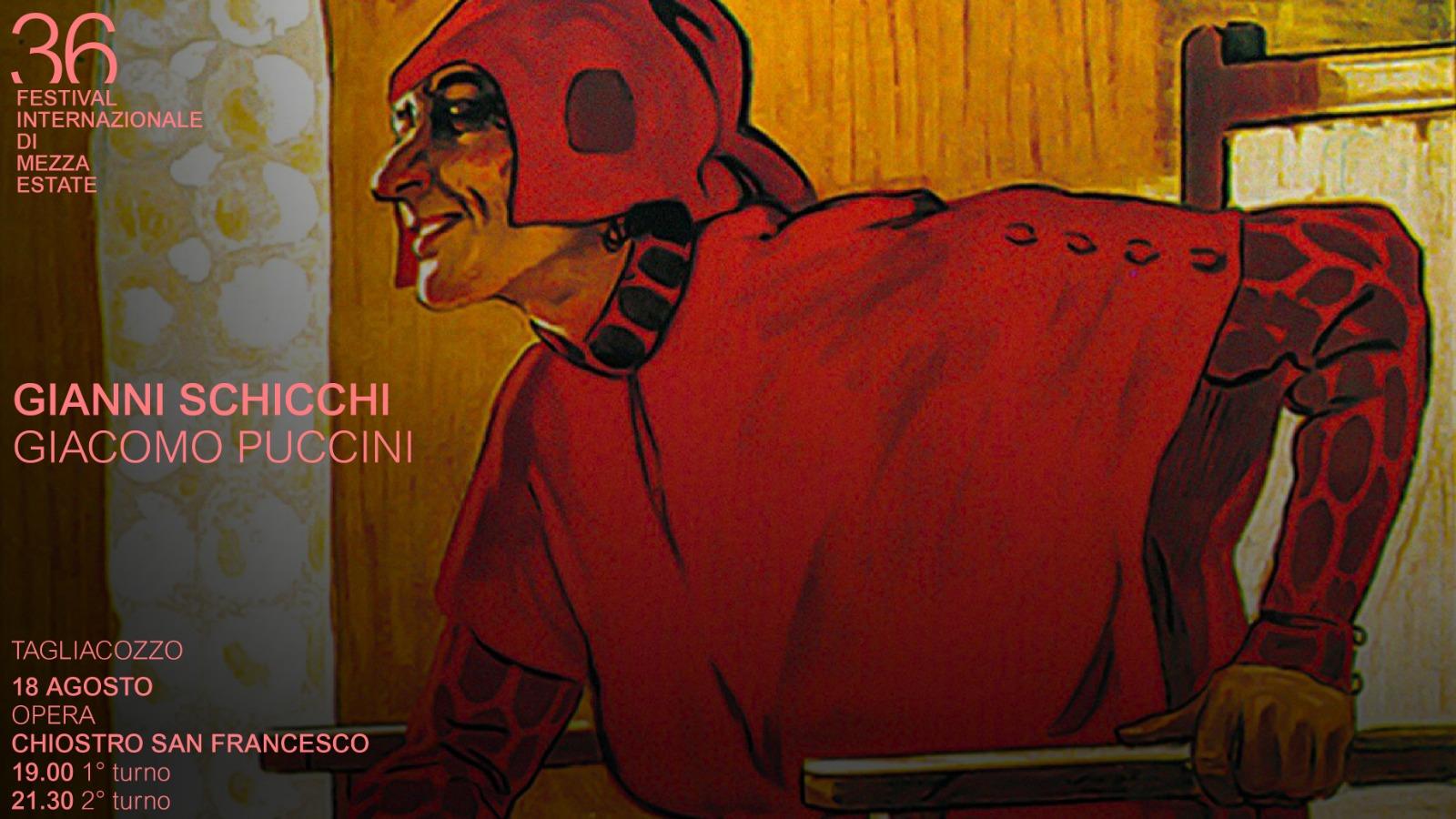 A Tagliacozzo Festival Gianni Schicchi di Puccini con Vaccari, Bologna e Vestri