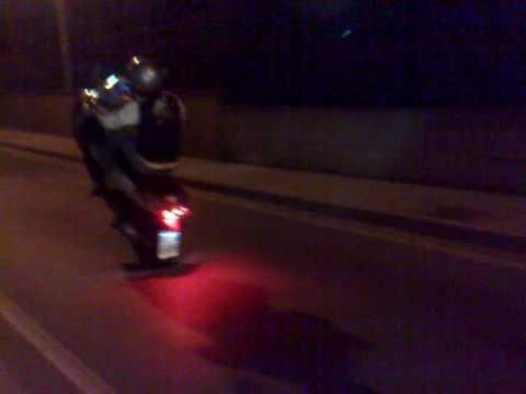 Motorini rumorosi in giro fino a tarda notte per le vie di Avezzano