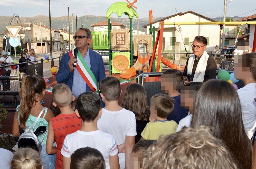 Nuovo parco giochi ad Ortucchio per i più piccoli