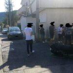 Incidente tra auto e moto in Via Madonna del Passo ad Avezzano