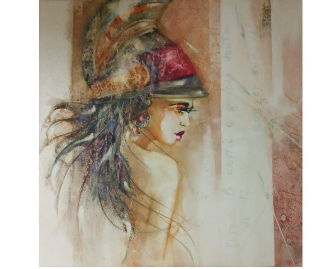 Mostra di pittura dell'artista Alessandra De Michele alla Pro Loco di Avezzano