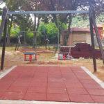 In corso il rifacimento del parco giochi della Villa Comunale di Capistrello