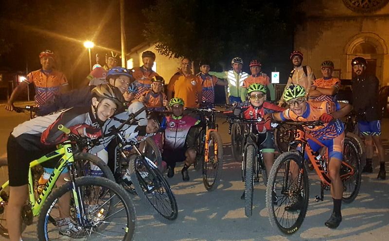 Pedalata solidale in MTB per il gruppo dei biker i PeDalosi