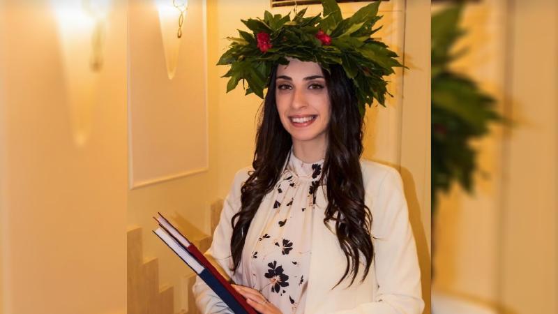 Laurea on line per la neo dottoressa Veronica Pugliese di Avezzano